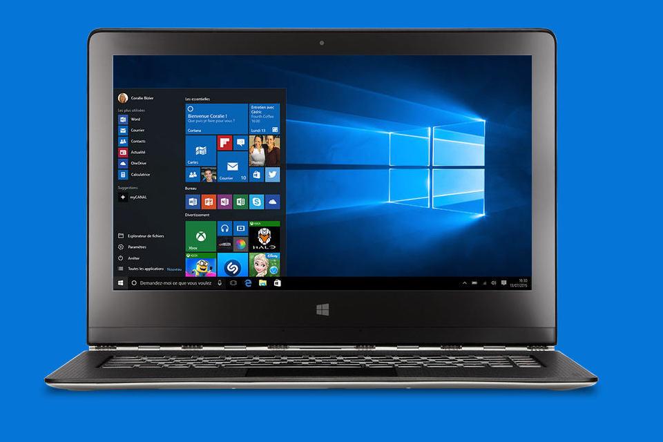 l'installation de Windows 10 a échoué aux données de migration du second démarrage